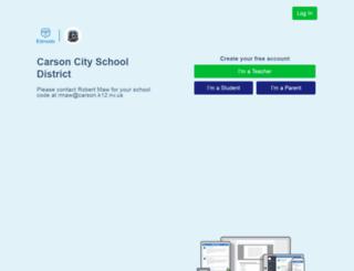 carson.edmodo.com screenshot
