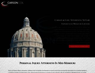 carsoncoil.com screenshot