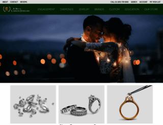 carsonjewelers.com screenshot