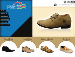 carsonshoes.com screenshot