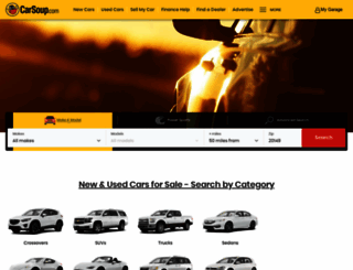 carsoup.com screenshot