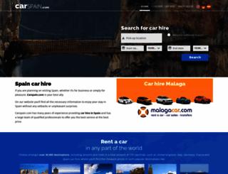 carspain.com screenshot