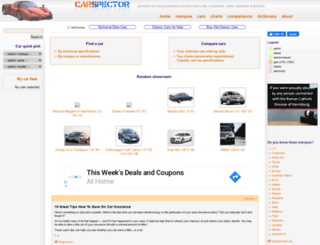 carspector.com screenshot