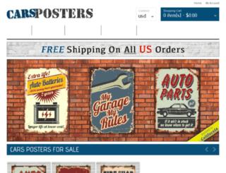 carsposters.com screenshot