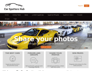 carspottershub.net screenshot