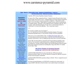 carstensz-pyramid.com screenshot