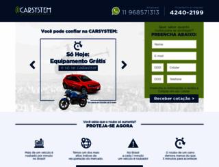 carsystemalarmes.com.br screenshot