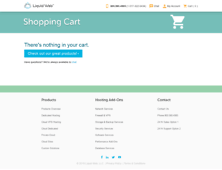 cart.liquidweb.com screenshot