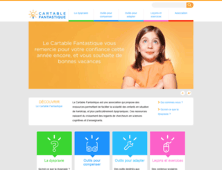 cartablefantastique.fr screenshot