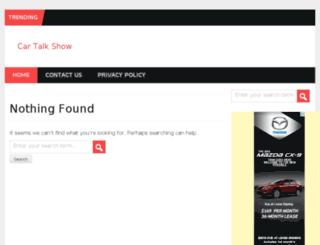 cartalkshows.com screenshot