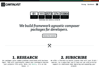 cartalyst.com screenshot