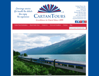 cartantours.com screenshot
