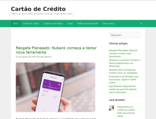 cartao-de-credito.biz screenshot