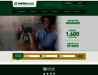 cartaoqualidade.com.br screenshot