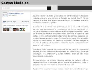 cartasmodelos.com screenshot