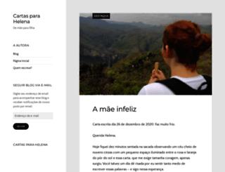 cartasparahelena.wordpress.com screenshot