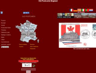 carte-postale-ancienne.eu screenshot