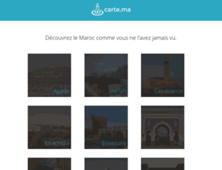 carte.ma screenshot