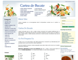 carteadebucate.ro screenshot