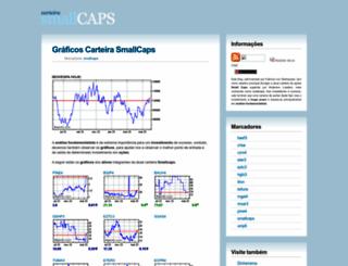 carteirasmallcaps.blogspot.com.br screenshot
