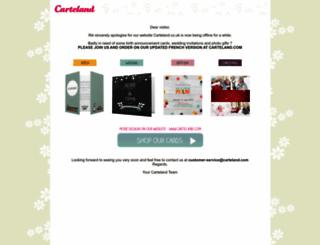carteland.co.uk screenshot