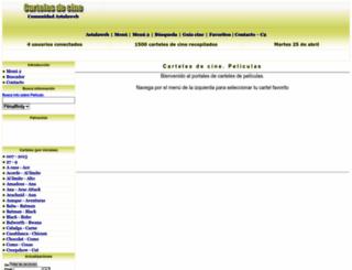 carteles.astalaweb.net screenshot