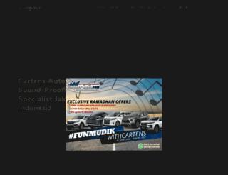 cartens-audio.com screenshot