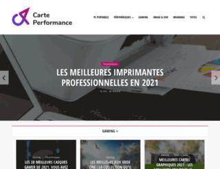 carteperformance.fr screenshot