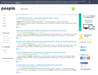 carter.us.splinder.com screenshot