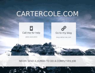 cartercole.com screenshot