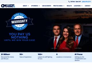 cartermario.com screenshot