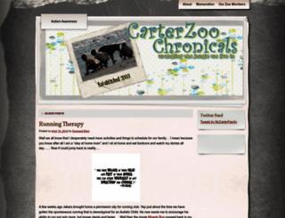 carterzoochronicles.wordpress.com screenshot