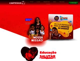 cartesius.com.br screenshot