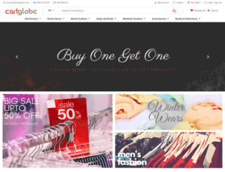cartglobe.com screenshot