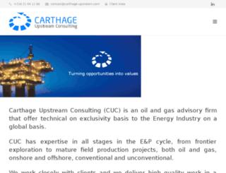 carthage-upstream.com screenshot