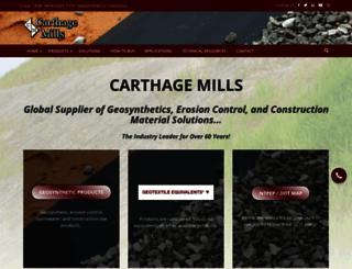 carthagemills.com screenshot