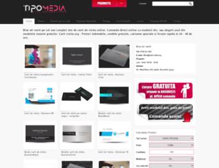carti-vizita.org screenshot