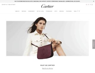 cartier.com screenshot