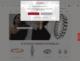 cartier.es screenshot