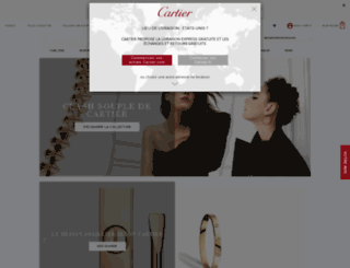 cartier.fr screenshot
