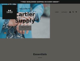 cartiersupply.com screenshot