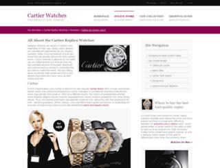 cartierwatchreplica.com screenshot