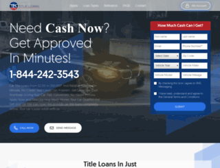 cartitleloansclovis.com screenshot