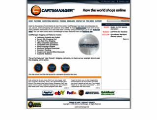 cartmanager.net screenshot