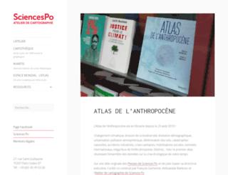 cartographie.sciences-po.fr screenshot