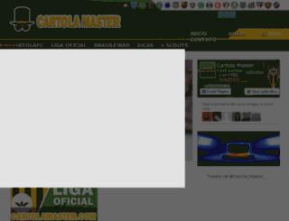 cartolamaster.com screenshot