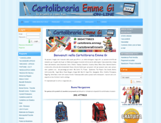 cartolibreriaemmegi.it screenshot