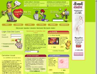 cartoline.ch screenshot