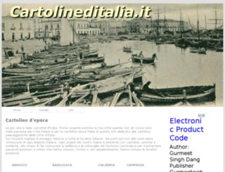 cartolineditalia.it screenshot