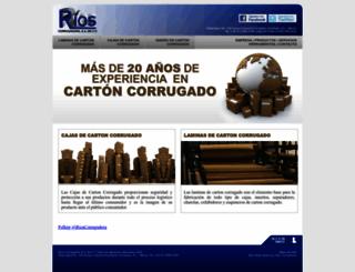 cartoncorrugado.com.mx screenshot